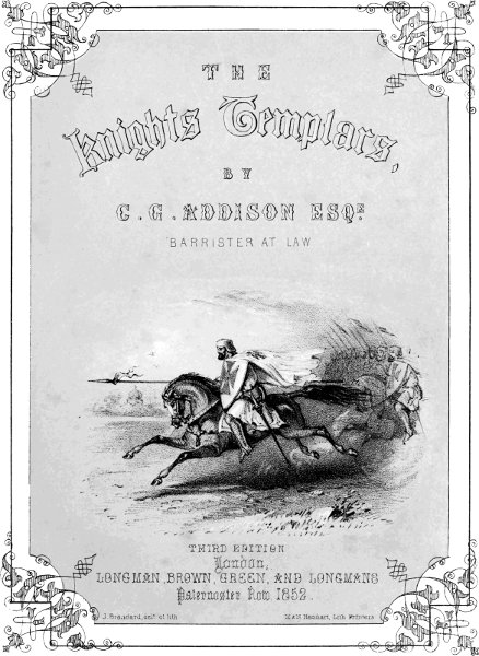 The Project Gutenberg Ebook Of The Knights Templars By C G