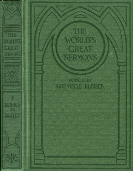 The project gutenberg ebook of the worlds great sermons volume 5 cover fandeluxe Choice Image