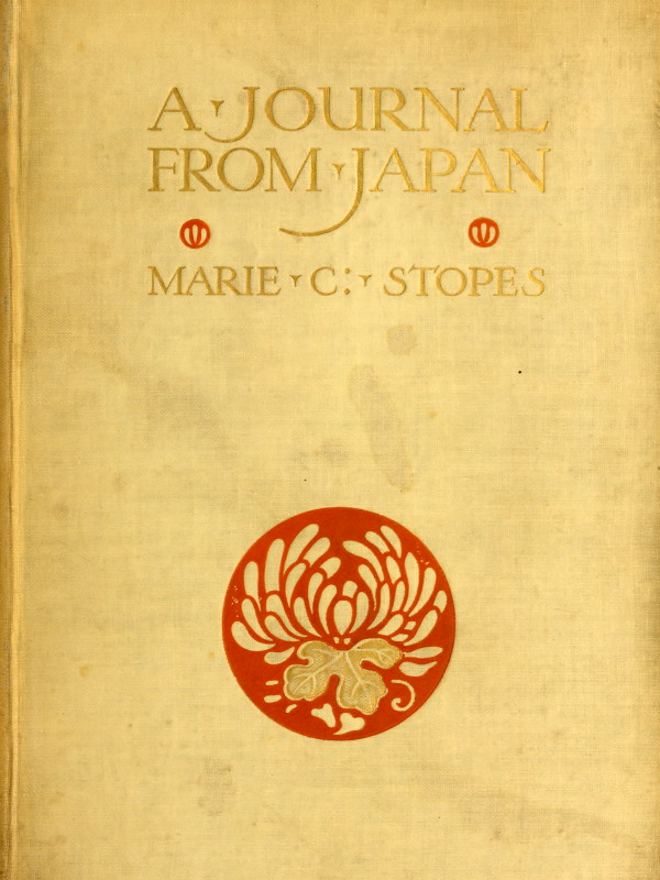 The project gutenberg ebook of a journal from japan by marie cover fandeluxe Choice Image