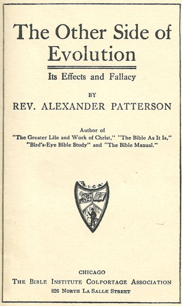 The project gutenberg ebook of the other side of evolution by the other side of evolution its effects and fallacy by fandeluxe Gallery