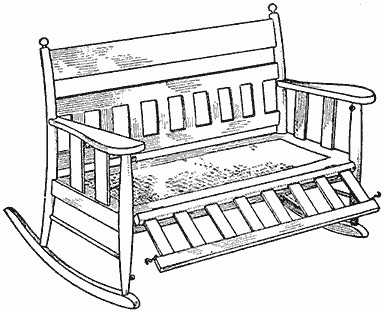 the project gutenberg ebook of the boy mechanic book 2 by h h windsor 6X6 Composite Post Sleeve a settee rocker with a front attachment to make it into a cradle when desired