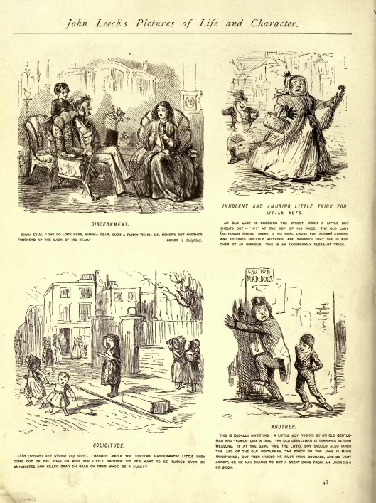 John Leech's Pictures of Life and Character, by John Leech