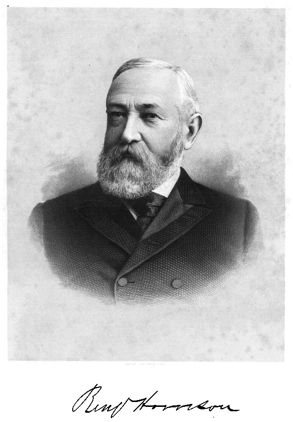 The Project Gutenberg Ebook Of Speeches Of Benjamin Harrison By