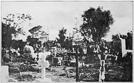 PARAGUAY MOTHER BEARING HER DEAD CHILD TO THE GRAVE CEMETERY CROSS 1870 HISTORY