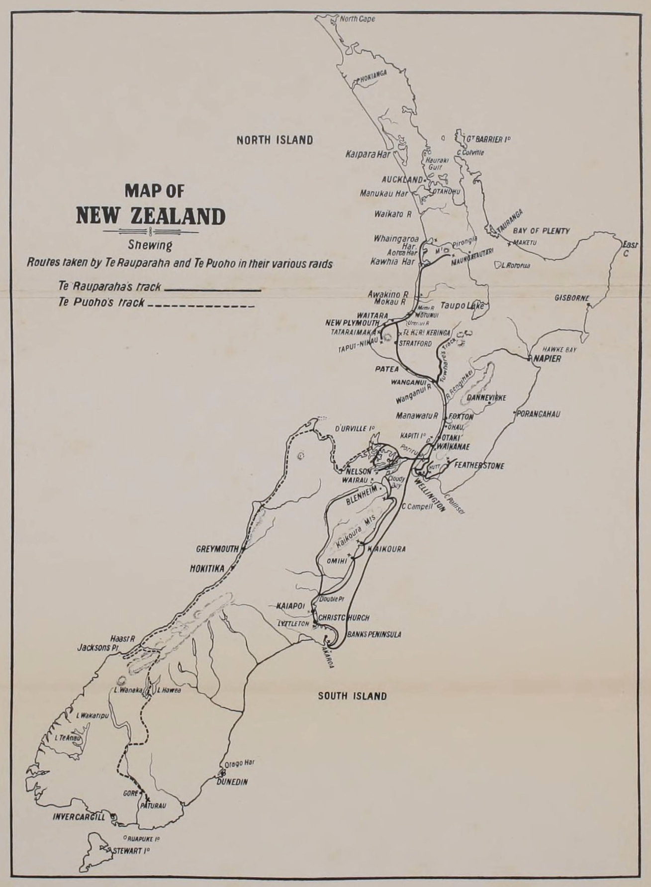 The Project Gutenberg eBook of An Old New Zealander, or Te