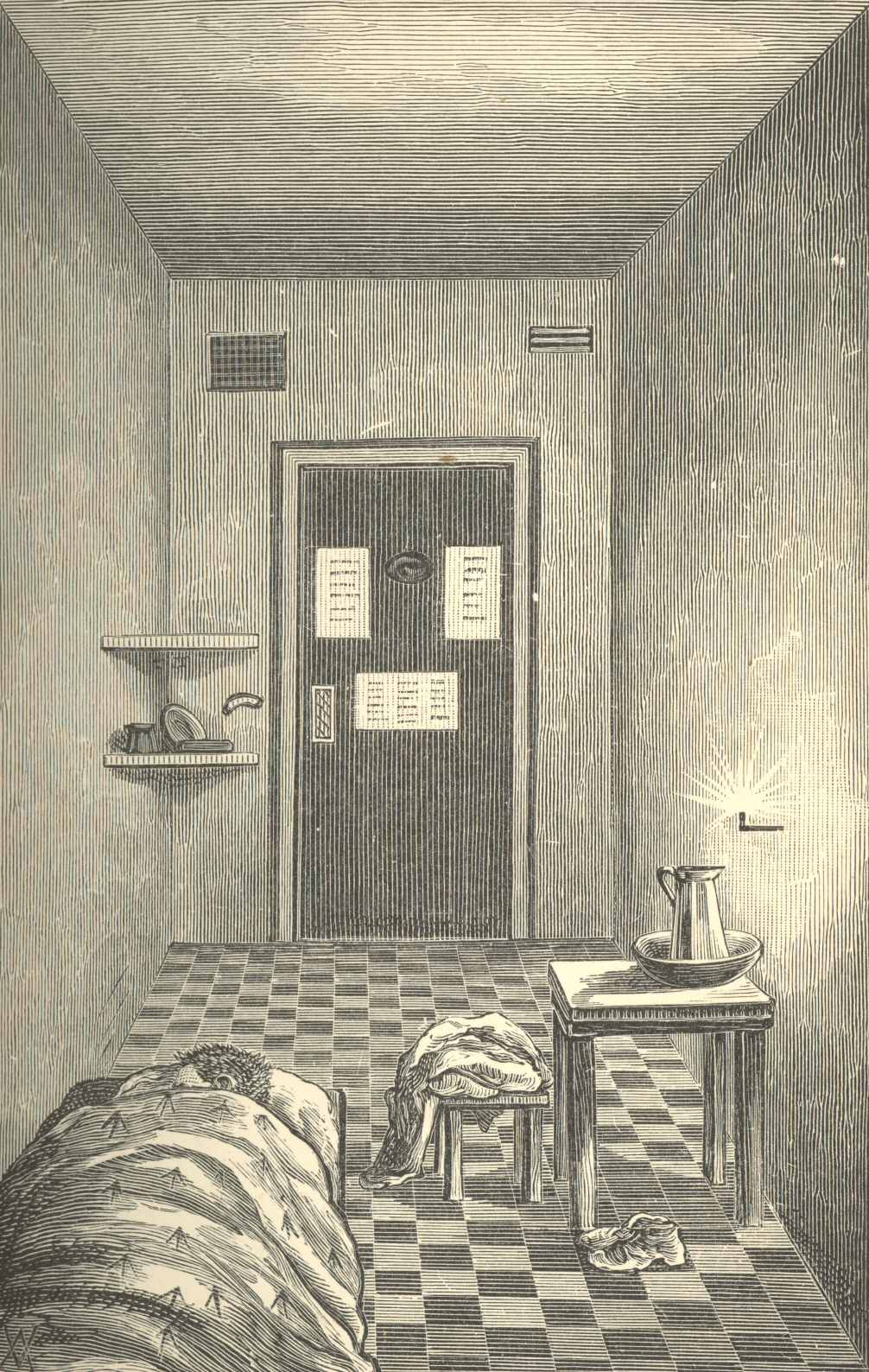 Eighteen Months Imprisonment By Donald Shaw Onefire Clover Night Lamp A Slight Difference Existed Between The Regulation Here And At Newgate On Subject Of Lights P 179out Coldbath It Was Serious Offence To Retire