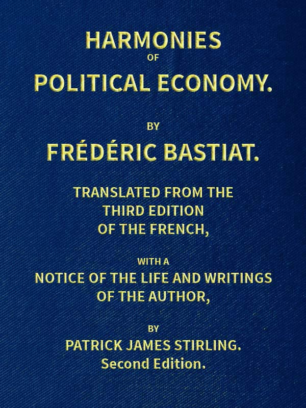 The Project Gutenberg Ebook Of Harmonies Of Political