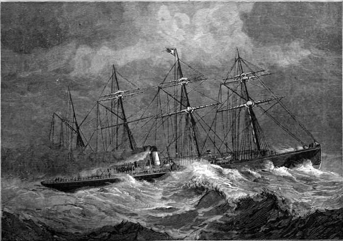 The project gutenberg ebook of the sea its stirring story of a white star liner crossing the atlantic fandeluxe Images