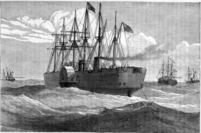 The project gutenberg ebook of the sea its stirring story of the great eastern laying the atlantic cable fandeluxe Image collections