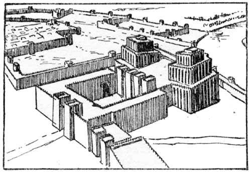 Der Anu-Adad Tempel