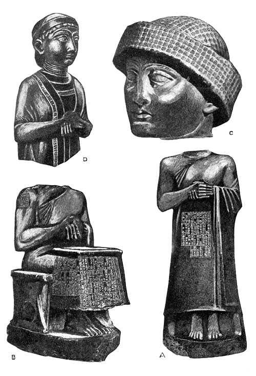 Diorite Statues of Gudea, Patesi of Lagash