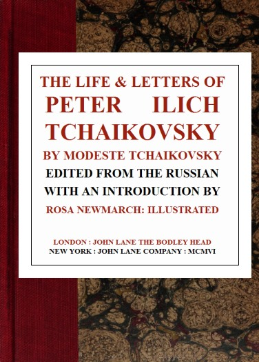 The Project Gutenberg eBook of The Life & Letters of Peter Ilich ...