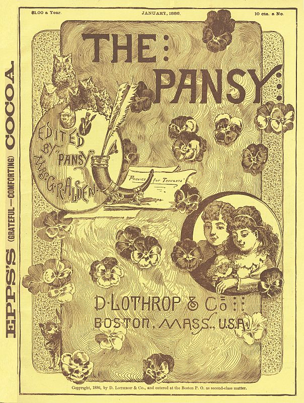 The project gutenberg ebook of the pansy january 1886 by pansy cover fandeluxe Images