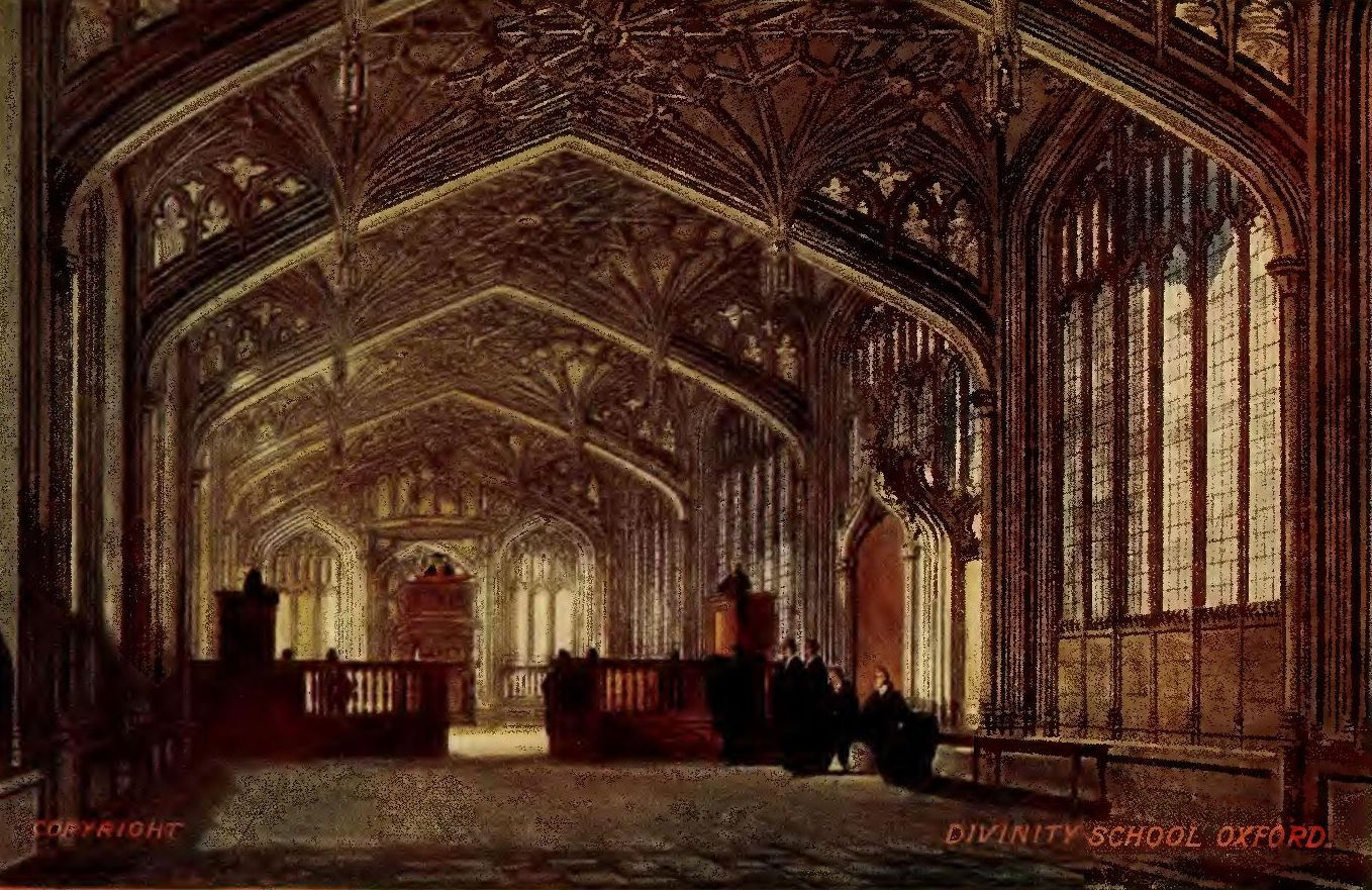 Benefactions Poured In Upon The Several Colleges, But The Greater  Institution Was Not Forgotten In The Divinity School, Within Whose Walls  Latimer And
