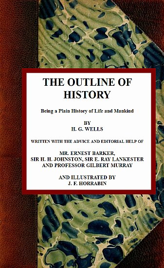The project gutenberg ebook of the outline of history by h g wells bookcover the outline of history fandeluxe Gallery