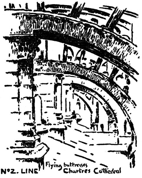 the project gutenberg ebook of position by arthur dow Beauvais Cathedral line flying buttresses chartres cathedral