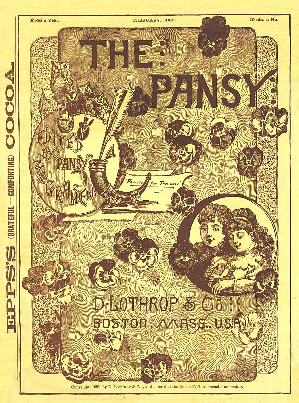 The project gutenberg ebook of the pansy february 1886 by pansy cover fandeluxe Gallery