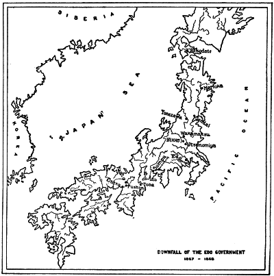 DOWNFALL OF THE EDO GOVERNMENT 1867-1868