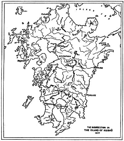THE INSURRECTION IN THE ISLAND OF KIUSHŪ 1877
