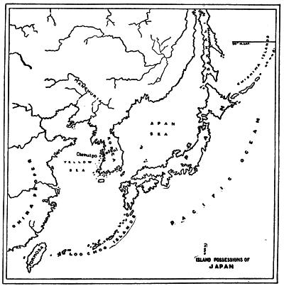 ISLAND POSSESSIONS OF JAPAN