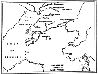 JAPANESE ADVANCE TO LIAO-YANG