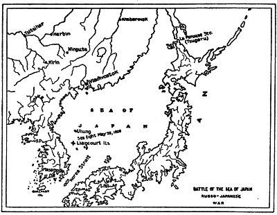 BATTLE OF THE SEA OF JAPAN RUSSO-JAPANESE WAR