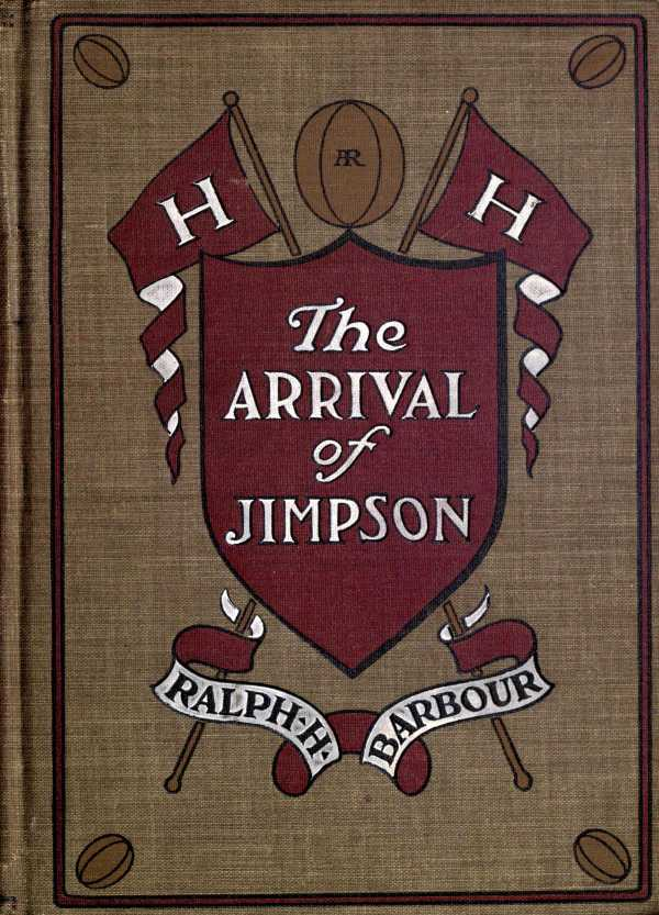 The arrival of jimpson by ralph henry barbour a project gutenberg cover fandeluxe Images