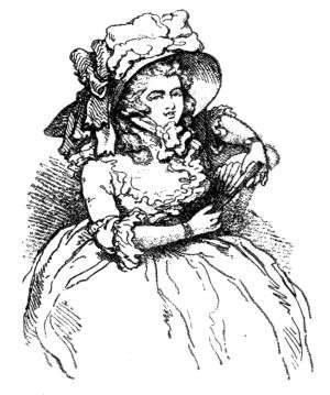 the project gutenberg ebook of rowlandson the caricaturist second 1880 Ladies of the Evening lady seated