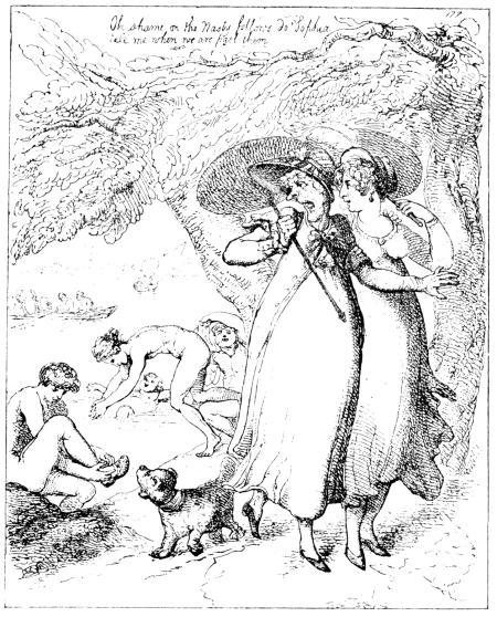 The Project Gutenberg Ebook Of Rowlandson The Caricaturist Second