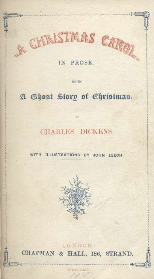 photograph regarding My First Christmas in Heaven Poem Printable referred to as A Xmas Carol, by means of Charles Dickens