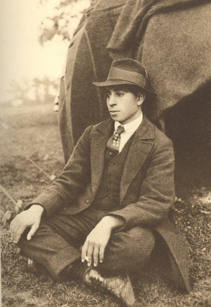 A Gypsy Lad. Photo. Fred Shaw 79bcaece08aa