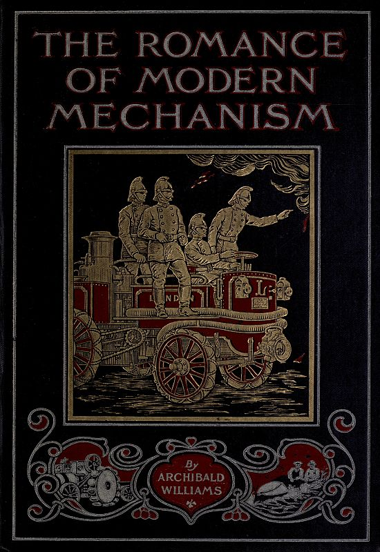 The project gutenberg ebook of the romance of modern mechanism by cover fandeluxe Images