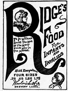 The project gutenberg ebook of six cups of coffee by various ridges food for infants and invalids fandeluxe Images