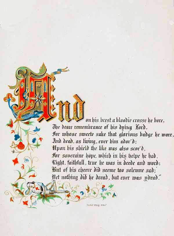 The project gutenberg ebook of sketch of the history of the knights and on his brest a bloodie crosse he bore the deare remembrance of his dying lord for whose sweete sake that glorious badge he wore and dead as living fandeluxe Images