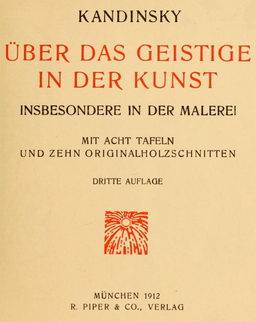 The Project Gutenberg eBook of Über das Geistige in der Kunst ...