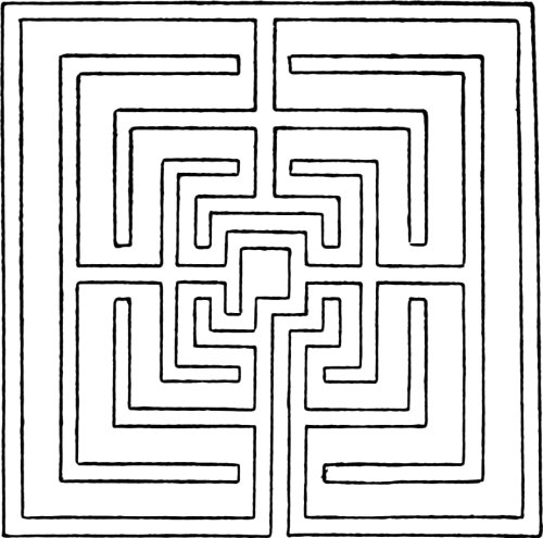 The Project Gutenberg eBook of Mazes and Labyrinths, by