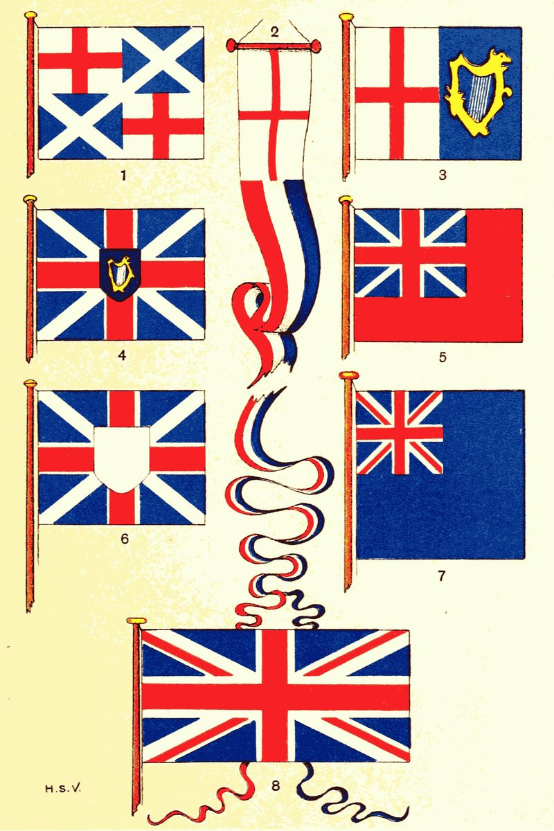 dbfc5164537 The Project Gutenberg eBook of British Flags