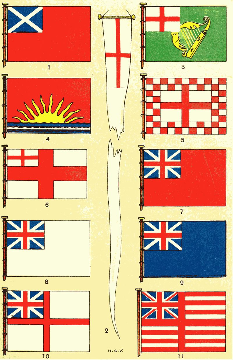 Colori In Luce Correggio the project gutenberg ebook of british flags, their early