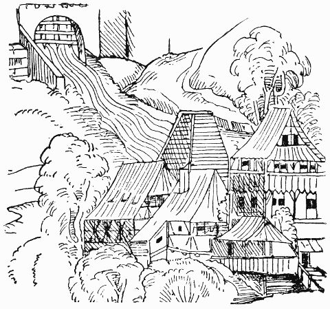 the paper mill of ulman stromer ad 1390 supposed to be the oldest known drawing of a paper mill