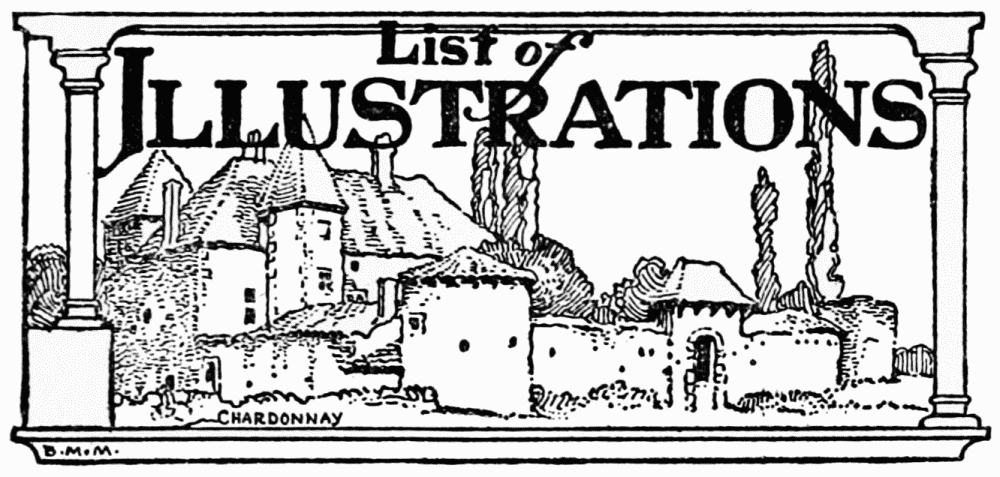 The Project Gutenberg Ebook Of Castles And Chateaux Of Old Burgundy