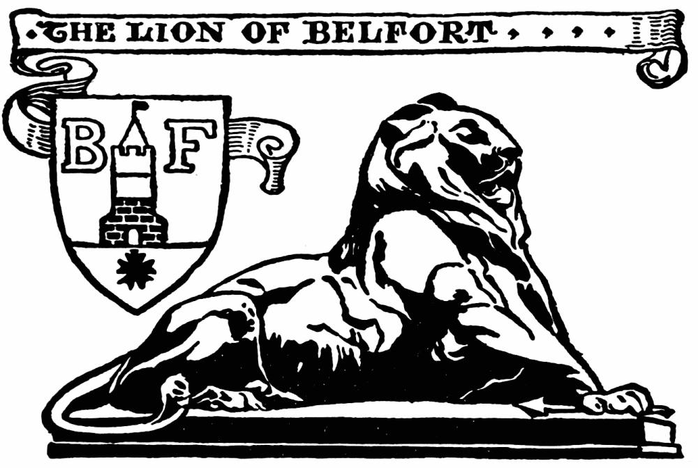THE LION OF BELFORT