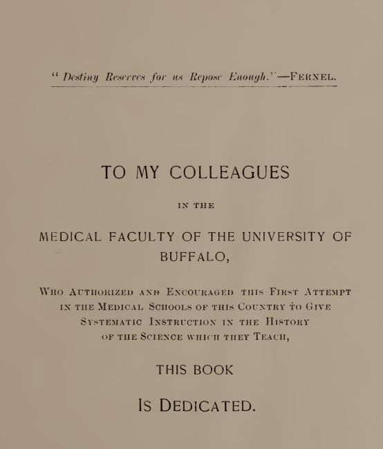 An Epitome Of The History Of Medicine By Roswell Park Am Md