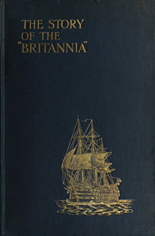 The project gutenberg ebook of the story of the britannia by front cover of the book fandeluxe Gallery