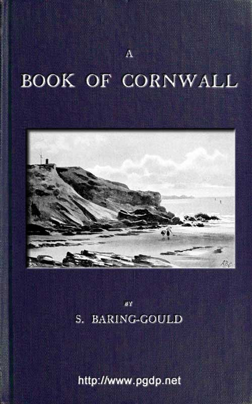 The project gutenberg ebook of a book of cornwall by s sabine book cover fandeluxe Gallery