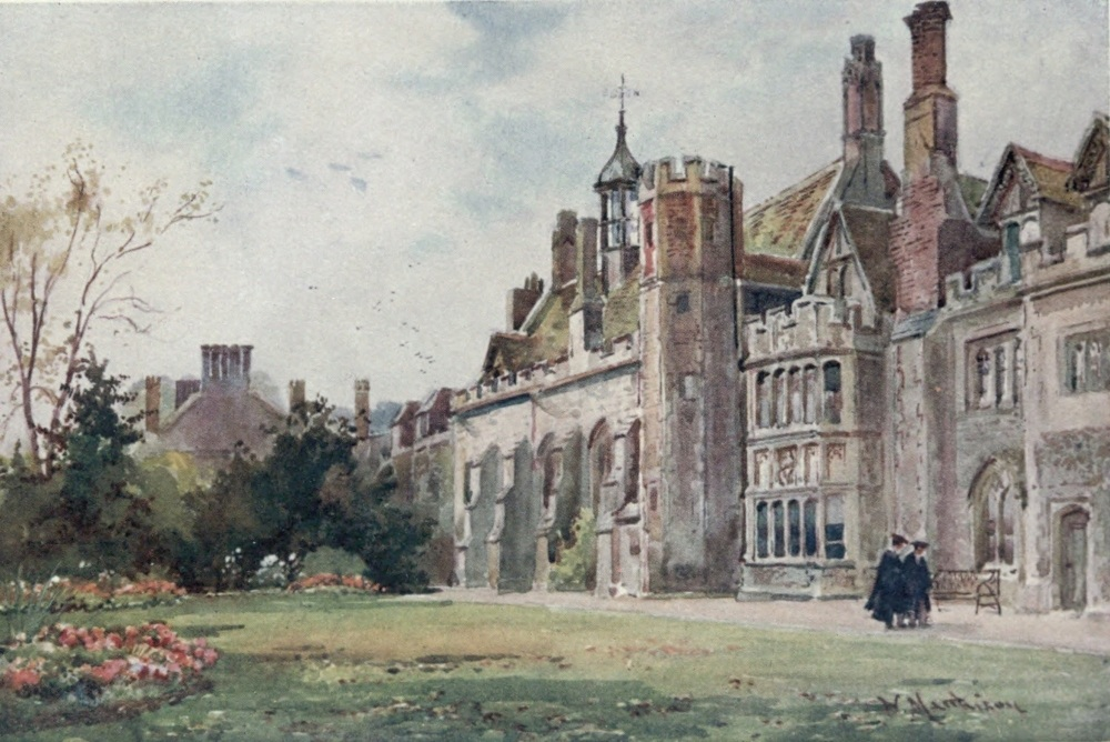 The project gutenberg ebook of cambridge by m a r tuker peterhouse from the fellows garden on the right is the combination room 1460 fandeluxe Gallery