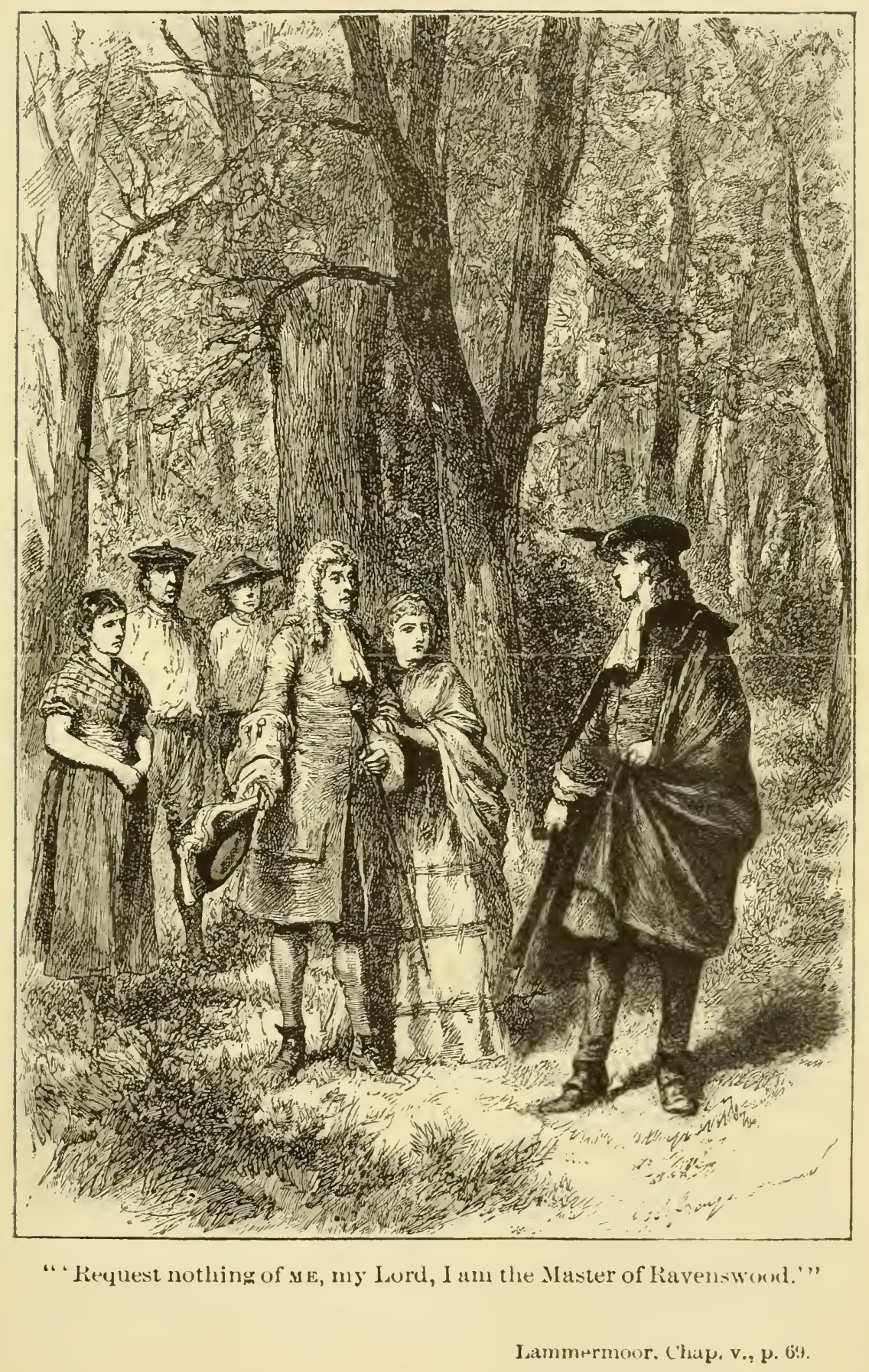 The Bride of Lammermoor, by Sir Walter Scott
