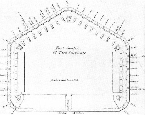 Fort Sumter National Monument South Carolina Revised By Frank Barnes