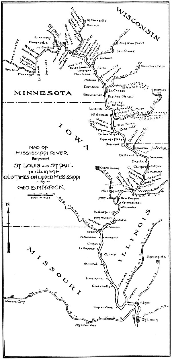 The Project Gutenberg Ebook Of Old Times On The Upper Mississippi