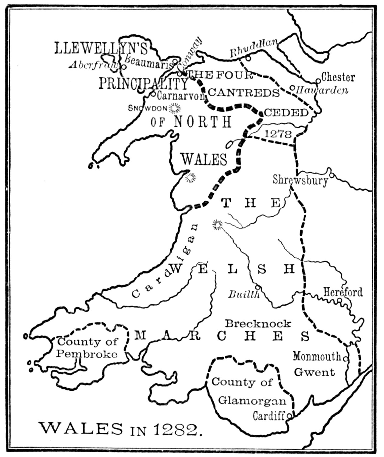 the project gutenberg ebook of a history of england by charles oman Edmund Fitzgerald Crew Remains wales in 1282