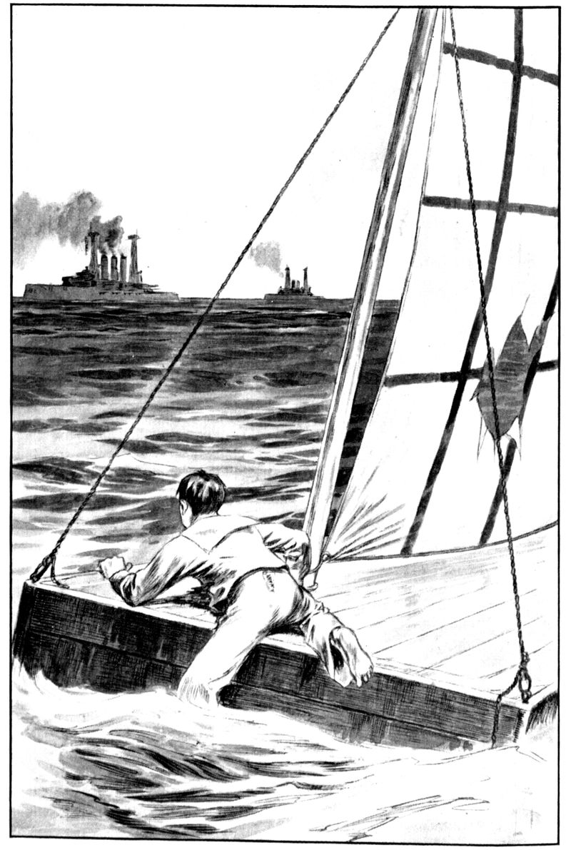 The project gutenberg ebook of the dreadnought boys on battle a few strokes brought him alongside the float and he scrambled up its wet sides fandeluxe Images